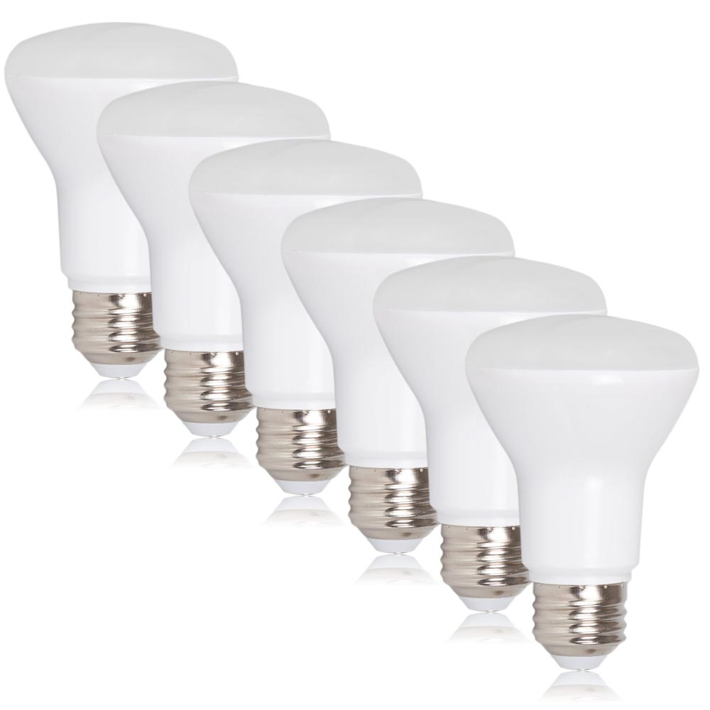 dimmable br20 led 7 watt warm white 600 lumens 50 watt equivalent 6 pack. Black Bedroom Furniture Sets. Home Design Ideas