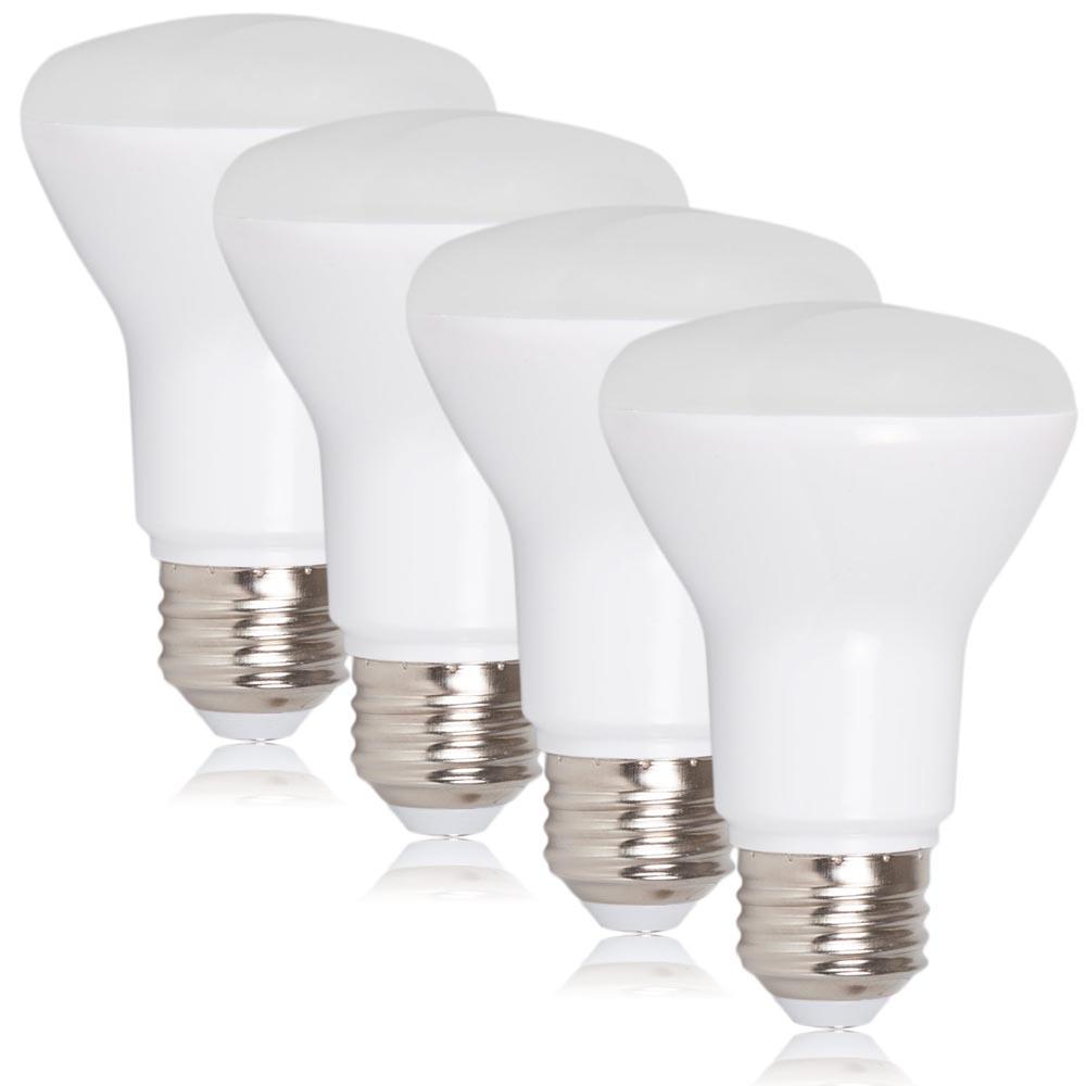 br20 dimmable led bulb 7 watts 50 watt equivalent 3000k warm white 600 lumens 4 pack. Black Bedroom Furniture Sets. Home Design Ideas